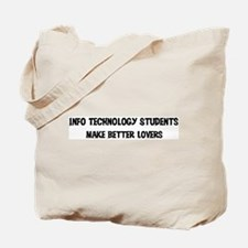Info Technology Students: Bet Tote Bag