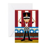 Nutcracker Soldier with Drum Cards (Pk of 10)