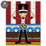 Nutcracker Soldier with Drum Puzzle