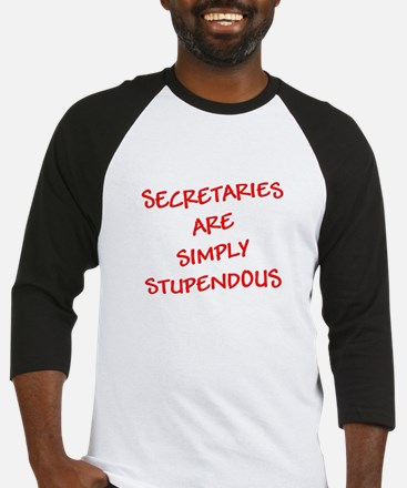 Secretaries are Stupendous (r Baseball Jersey