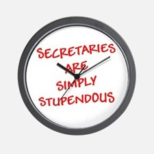 Secretaries are Stupendous (r Wall Clock