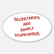 Secretaries are Stupendous (r Decal