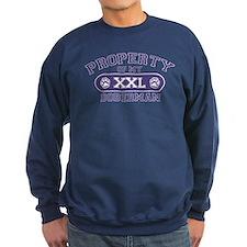 Doberman PROPERTY Sweatshirt