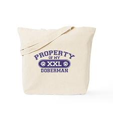 Doberman PROPERTY Tote Bag