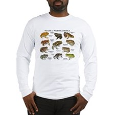 Toads of North America Long Sleeve T-Shirt