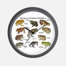 Toads of North America Wall Clock
