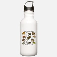 Toads of North America Water Bottle