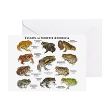 Toads of North America Greeting Card
