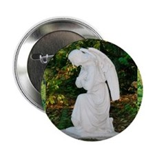 "Angel! tranquil prayer, photo 2.25"" Button (10 pac"