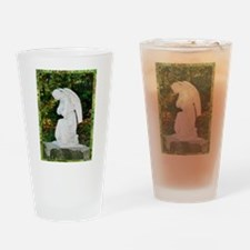 Angel! tranquil prayer, photo Drinking Glass
