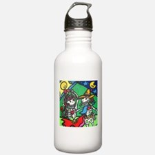 Cute Folk dancing Water Bottle