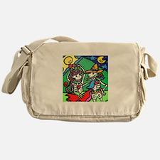 Cute Folk dancing Messenger Bag