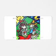 Cool Folk dancing Aluminum License Plate