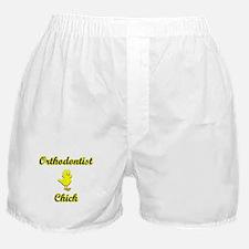 Orthodontist Chick Boxer Shorts