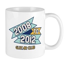 08 to 12 Guitar Club Mug