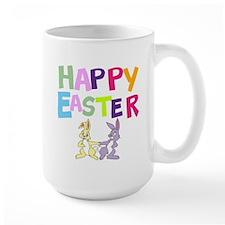 Cute Bunny Happy Easter 2012 Mug