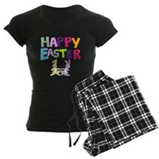Cute Bunny Happy Easter 2012 Pajamas