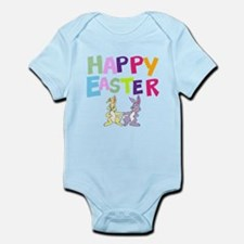 Cute Bunny Happy Easter 2012 Infant Bodysuit