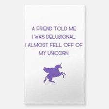 Delusional Unicorn Decal