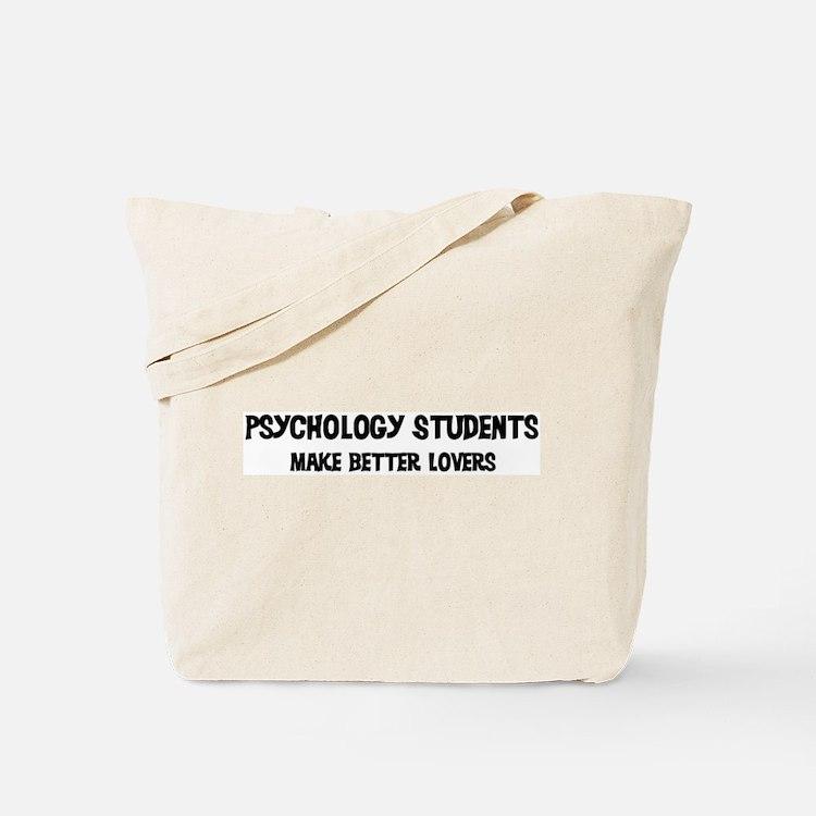 Psychology Students: Better L Tote Bag