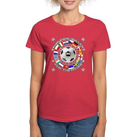 European Soccer 2012 Women's Dark T-Shirt
