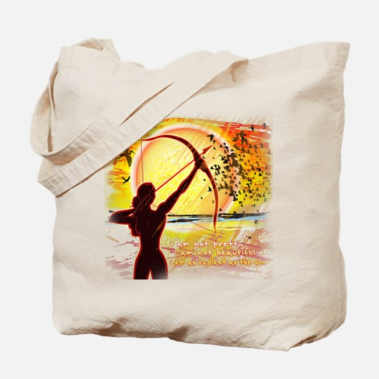 Katniss Radiant as the Sun Tote Bag