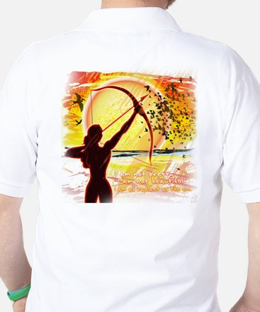 Katniss Radiant as the Sun Golf Shirt