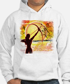 Katniss Radiant as the Sun Hoodie