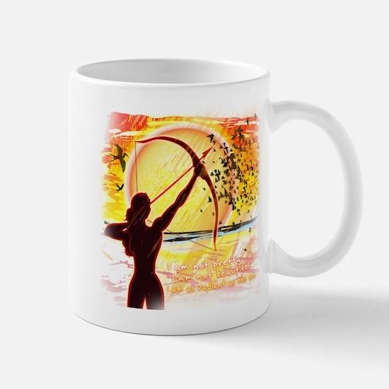 Katniss Radiant as the Sun Mug