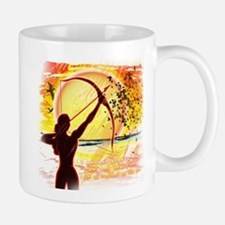 Katniss Radiant as the Sun Small Small Mug