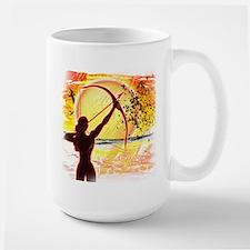 Katniss Radiant as the Sun Large Mug