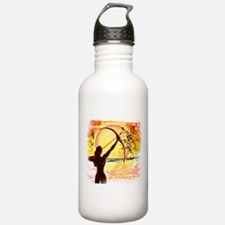 Katniss Radiant as the Sun Sports Water Bottle