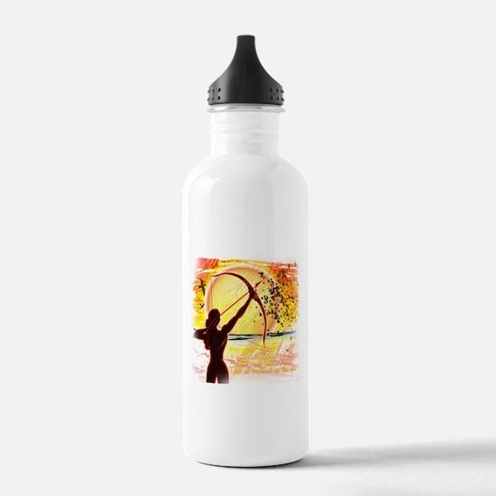 Katniss Radiant as the Sun Water Bottle