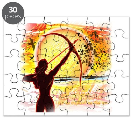 Katniss Radiant as the Sun Puzzle