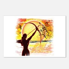 Katniss Radiant as the Sun Postcards (Package of 8