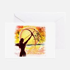 Katniss Radiant as the Sun Greeting Cards (Pk of 1