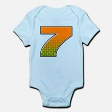 DP7flag Infant Bodysuit
