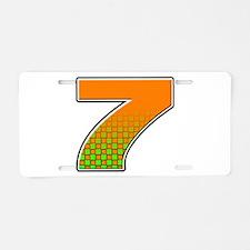 DP7flag Aluminum License Plate