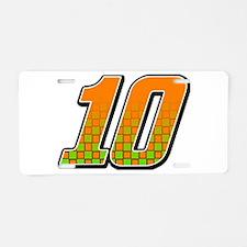 DP10flag Aluminum License Plate