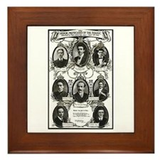 The Courageous Titanic Band Framed Tile