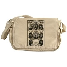 The Courageous Titanic Band Messenger Bag