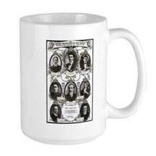 The Courageous Titanic Band Mug