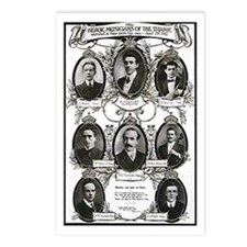 The Courageous Titanic Band Postcards (Package of