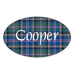 Tartan - Cooper Decal