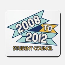 08 to 12 Student Council Mousepad