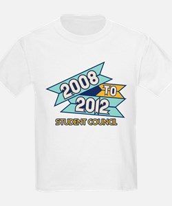 08 to 12 Student Council T-Shirt