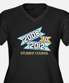08 to 12 Student Council Women's Plus Size V-Neck