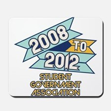 08 to 12 Student Government A Mousepad
