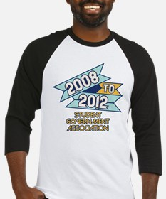 08 to 12 Student Government A Baseball Jersey