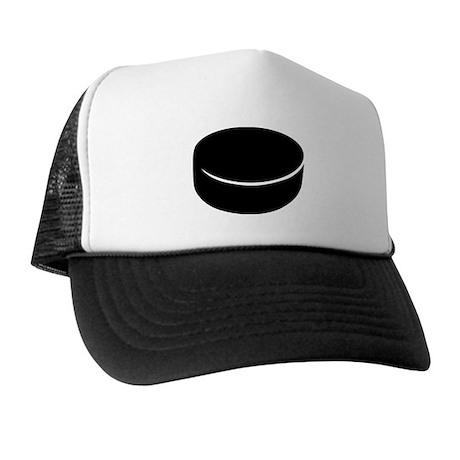 Hockey puck Trucker Hat